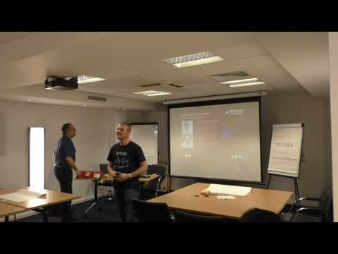 SAFe planning in action - Meetup Sep 6, 2016