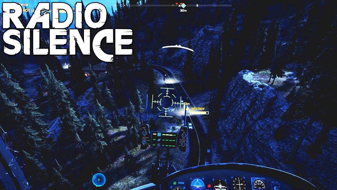 FAR CRY 5: RADIO SILENCE - 3440x1440   60FPS   GTX 1080Ti   i7-6950X - YouTube