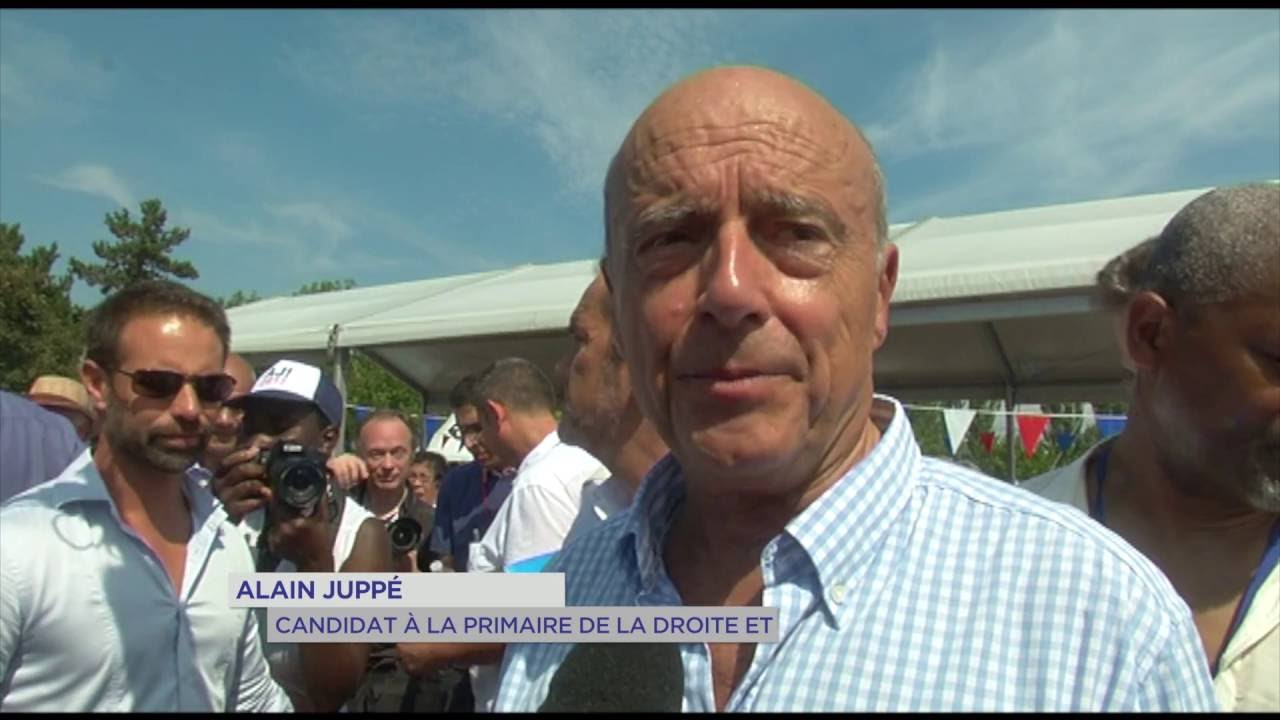 Présidentielle : Alain Juppé dans les Yvelines
