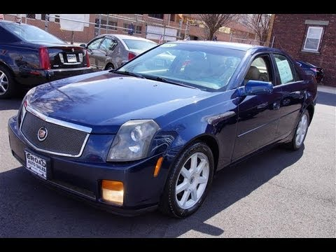 2005 cadillac cts 3 6 sedan youtube. Black Bedroom Furniture Sets. Home Design Ideas
