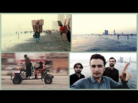 Clifton Beach Karachi , SUNSET SEAVIEW BEACH BUGGY ride | VLOG 1