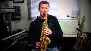 Saxophone Lesson - Baker Street - How to play on Saxophone