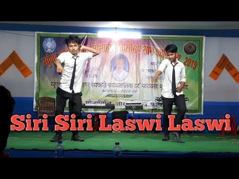 Siri Siri Laswi Laswi Hit Dual Dance By Boys    Ishan Mushahary Gwswkang San Falinai 2019