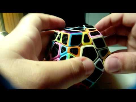 Z-Cube Carbon Fiber Megaminx Solve