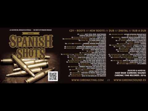 SPANISH SHOTS 2015 cd mix tape 1/2 - Best of Spain Reggae