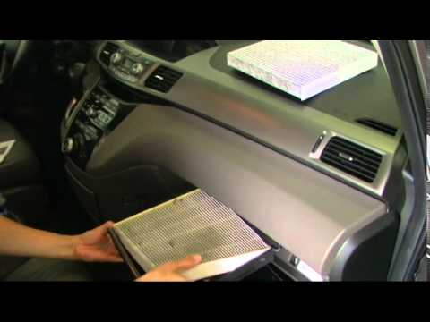 Gentil Change 2012 Honda Odyssey Cabin Air Filter