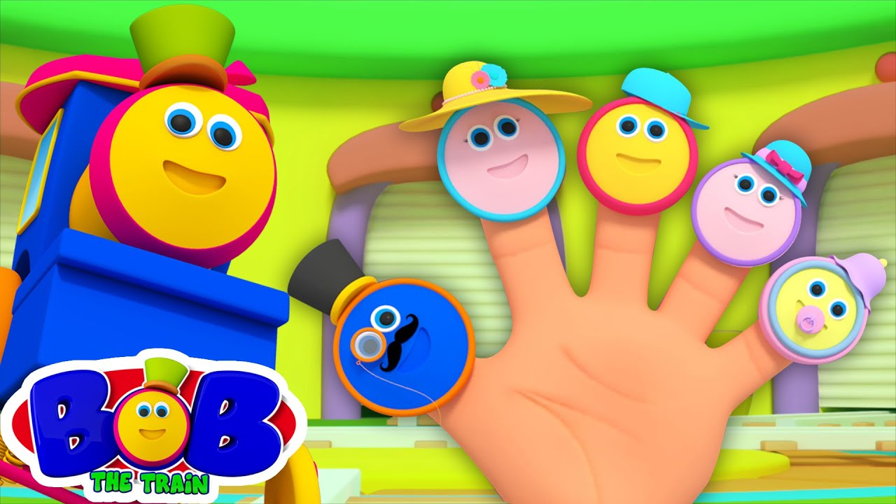 Download Bob The Train Finger Family Song | Train Family Fun Song + More Nursery Rhymes & Kids Songs