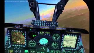 DCS: A-10C Tskhinvali(ツヒンヴァリ)上空のCAS(近接航空支援)