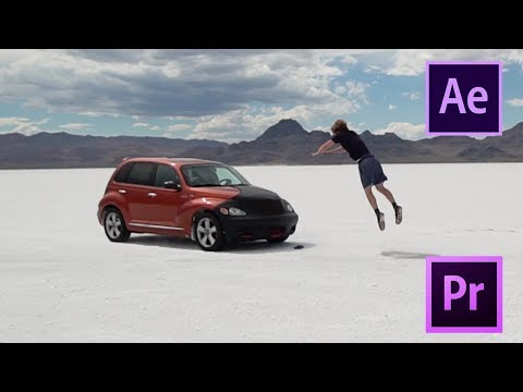 How I Jumped My Car With After Effects - Tutorial