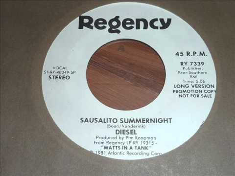 Diesel - Sausalito Summernight 45rpm (long version)