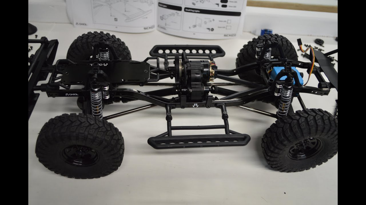 Rc explorer project logo pt6 axial scx10 jeep for Builders unlimited