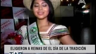 ELIGIERON A REINAS DE EL DÍA DE LA TRADICIÓN