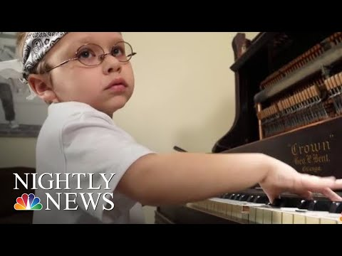 Young Piano Prodigy Beats The Odds To Become Viral Sensation | NBC Nightly News