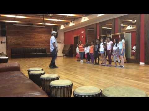 Bo Dollis Jr. shares a positive mantra | Upturn Arts Music Camp sp by Positive Vibrations Foundation