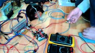 alternator jako silnik bldc testy po uruchomieniu układu regulacji wzbudzenia