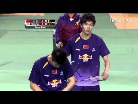 [HD] Final - MD - Shin B.C. / Yoo Y.S. vs Li J.H. / Liu Y.C. - 2014 Badminton Asia Championships