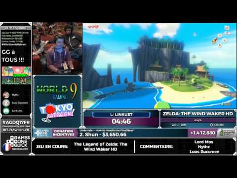 [AGDQ 2017 Restream FR] The Legend of Zelda: The Wind Waker HD (any%)
