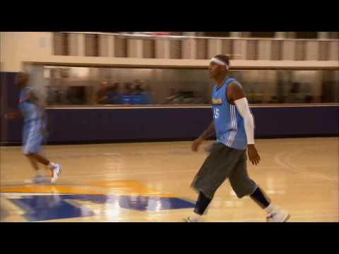 Carmelo Anthony Wireless from Training Camp
