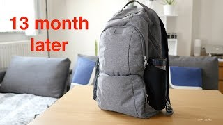 PacSafe LS450 Backpack -13 month later