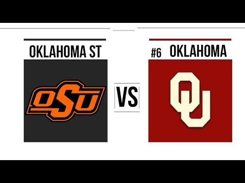 Week 11 2018 Oklahoma State vs #6 Oklahoma Full Game Highlights