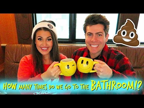 HOW MANY TIMES DO WE POOP A DAY!?!  Feat Hoodie Allen
