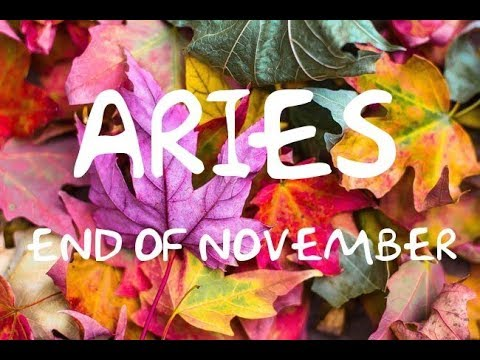*ARIES* END OF NOVEMBER LOVE READING-WHY ARE THEY LEAVING YOU HANGING?