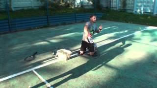 Уроки большого тенниса. Серия уроков. Урок 25.. Учебное видео. Подача.