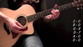 Filter - Take A Picture - Acoustic Guitar Lesson