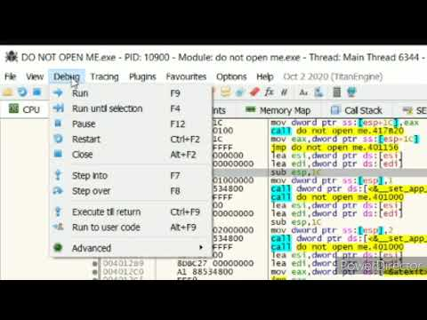 How to do reverse Engineering without searching for strings ; debugging without string references