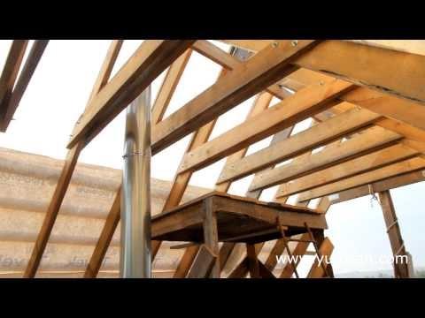 видео: Монтаж стропильной системы крыши