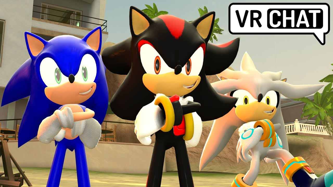 Sonic Shadow Silver Go To The Beach Vr Chat Youtube
