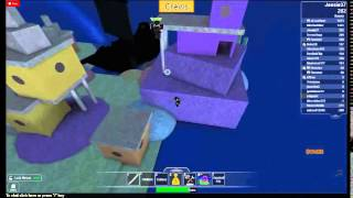 ROBLOX Me vs Error (BIZ TRIES TO TEAM AND FALLS THROUGH WATER! LOL!!)