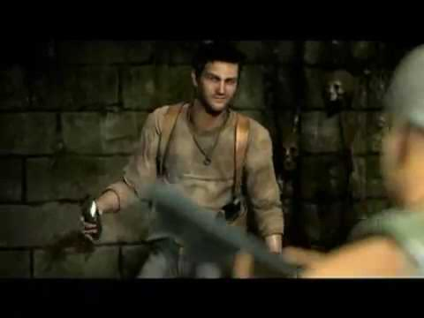 Uncharted Drake's Fortune Commercial