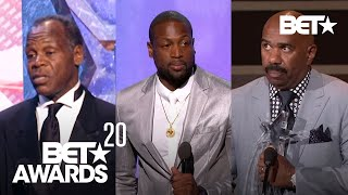 Steve Harvey, Danny Glover & More In Most Powerful Humanitarian Award Speeches Ever BET Awards 20