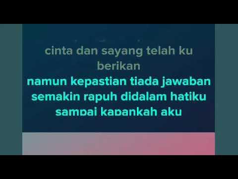 Kepastian - Rita Sugiarto | Karaoke dangdut koplo
