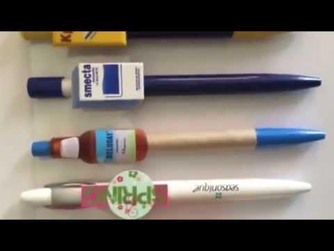 Creative Custom Mold Clip Pens