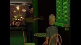 Verliefd op een pizza VIDEO (GTST, Lucas en Sjoerd) sims3