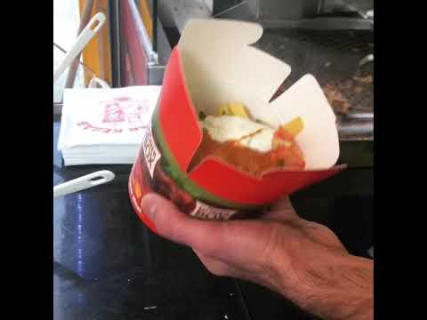 ASMR Türk fast food: Döner, Dürüm, Döner kutusu 🥳 (35. doğum günü videosu) Türkçe altyazılı - GFASMR