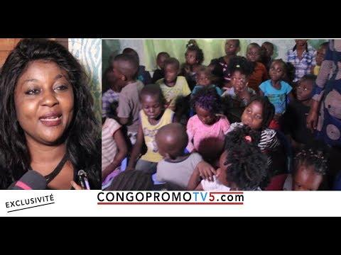 BOTALA MAKAMBU L'ARTISTE COMEDIENNE BELLE ASALI PONA LES ENFANTS SANS PARENTS | ESALI SOMO TOLANDA