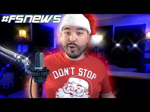Farm Sim News Christmas Special! Where's All The Mods? | Farming Simulator 19