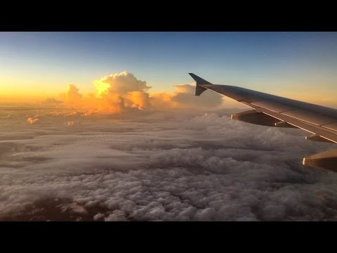FLIGHT FROM HO CHI MINH CITY TO NHA TRANG VIETNAM / Travel Video January 2017