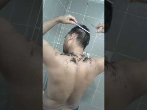 Govinda Hair cutting exprience