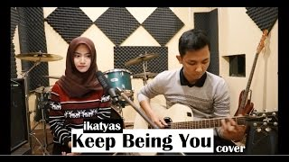 Video Isyana Sarasvati - Keep Being You (cover) LIVE STUDIO by IKATYAS download MP3, 3GP, MP4, WEBM, AVI, FLV November 2018