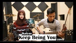 Video Isyana Sarasvati - Keep Being You (cover) LIVE STUDIO by IKATYAS download MP3, 3GP, MP4, WEBM, AVI, FLV Oktober 2017