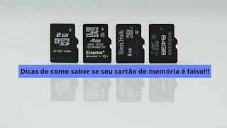 Algumas formas de saber se seu cartao de memoria e falso (Reupload)
