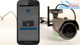 PC-480 WiFi IP720 PoliceCam відеокамера | Як налаштувати підключення до смартфону | domvideo.com.ua