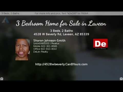 3 Bedroom Single Level Home for Sale in Laveen Serviced by Laveen Elementary School