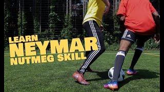 Learn Neymar World Cup nutmeg/panna Football skill