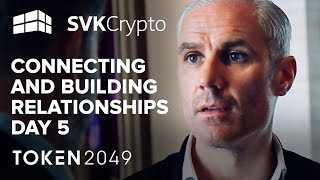 Live From The TOKEN2049 Event - SVK Crypto Day 5 in Hong Kong