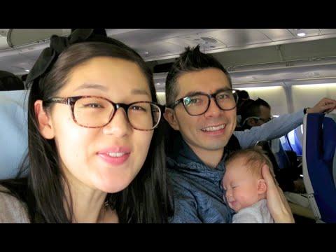 Travel Vlog: 1st Family Trip with Newborn! (Shanghai to Taipei)